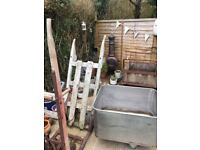 Wooden ladders / Sack barrows/wooden trolleys of all sizes