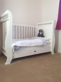 For Sale: Boori Sleigh Cotbed £250