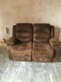 Reclining sofa 2 seater