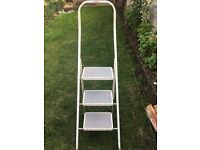 Ladder foldable 3 tier