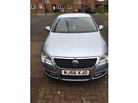 VW PASSAT LATE 2006 BLUE VERY GOOD CONDITION IN AND OUT
