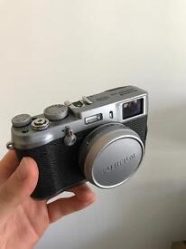 Fujifilm X100 - with all accessories