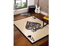 """""""Ace of Spades """" This rug is Ideal for any room"""