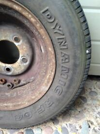 LANDROVER DEFENDER wheels with tyres X 5