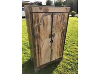 Vintage cabinet cupboard tall boy unit shabby chic Can deliver.