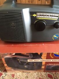 Portable Wind Up Radio New
