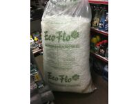 eco flo biodegradable loose fill, packing, posting, packaging