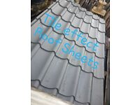 Tile Effect Roofing Sheets