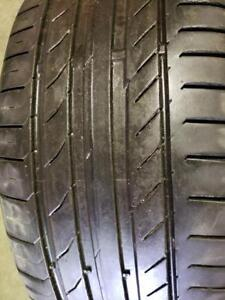 1 summer tire continental contisportcontact 5 runflat 225/40r19