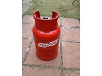 FloGas 11kg Propane Gas Bottle - FULL - With regulator and spanner - Calor BBQ Camping Cylinder