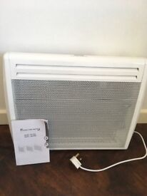 Radiant panel heater 800-1000W - electric wall mountable, excellent condition