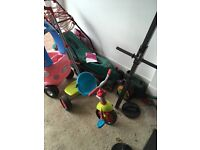 Kids first tricycle