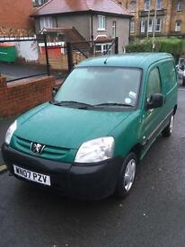 Peugeot partner van - great runner- low miles