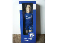 """Official Licensed product of Chelsea FC """"JOHN TERRY"""" 45cm Sports Doll. Sealed."""