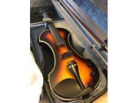 Fender violin plus amplifier