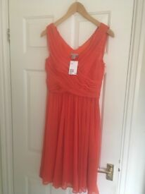Orange dress 10 h&m