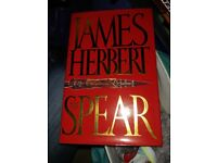 James Herbert Hardback Book The Spear - Perfect Condition
