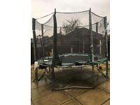 10 Foot Trampoline For Sale!
