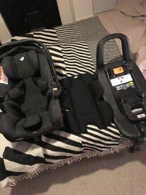 Joie i-Gemm Group 0+/Baby, i-Size Car Seat, with i-Base