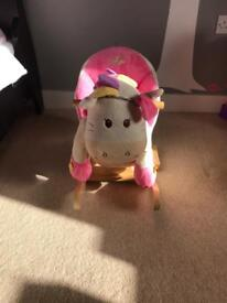 Baby girls babylo rocking horse