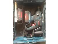 Bosch 36volt sds hammer drill 2 batteries, charger and box.