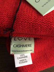 Cashmere Thow (Cocoon Wrap) - Love Cashmere, Red