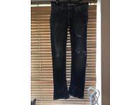 Ladies slim-bootcut jeans 27R