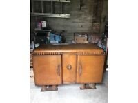 1960's Exeloak Furniture Sideboard, Loads of character