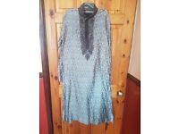 Badial mens silver sherwani suit