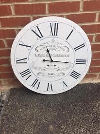 Large vintage look clock