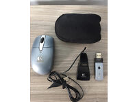 A quality Logitech wireless mouse, costs £45, quick sale at £10,first to see buys first to see buys