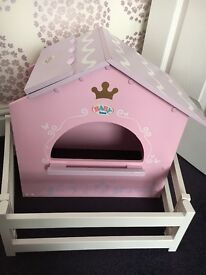 Baby born / baby annabell dolls horse riding STABLES with fence - immaculate