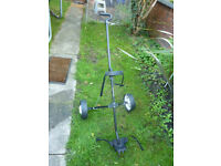 Prodrive foldable pull trolley Good condition and full working order. Has easily removable wheels.