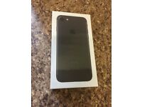 APPLE I PHONE 7 ** 32 GB ** MATT BLACK ** UNLOCKED ** BRAND NEW *** SEALED ** BEAT THE WAITING LIST