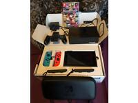 Brand new Nintendo switch with Mario kart 8 deluxe