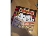 History of Beano book and Facsimile comic.