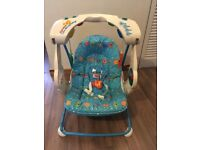 Fisher price swinging chair