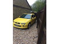 MG ZR 1.4 Yellow