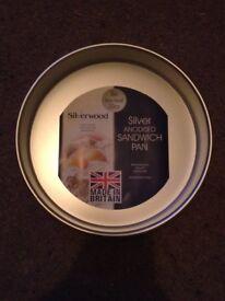 """8"""" Silverwood Cake Tins"""
