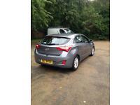 Hyundai i30 1.6 crdi 5door hatchback 12 plate free road tax.