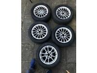 Tyres and Wheels 205/55/16 , Bmw-E39