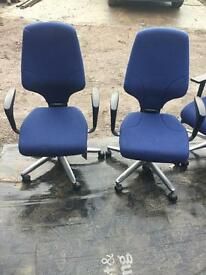 Giroflex G64 office operator swivel chairs. Delivery