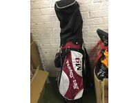 Nearly new golf clubs