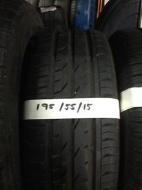 195/55/15 New & Part worn Tyres Great treads Great prices Great service Call us now for more