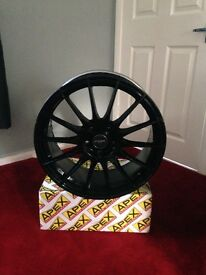 "Alloys no tyres 18"" fit Honda Civic type r"