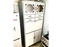 Mid century kitchen unit cupboard storage vintage retro