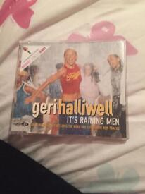 Geri halliwell it's raining men cd single