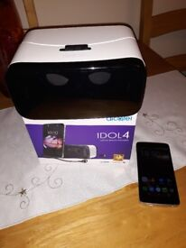 Alcatel Idol4 16GB. With VR googles