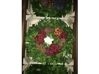 Real fruit wreaths