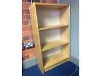 IKEA Beech Bookshelves 106cm (h) x 27cm (d) x 60cm (w) Used - 2 available